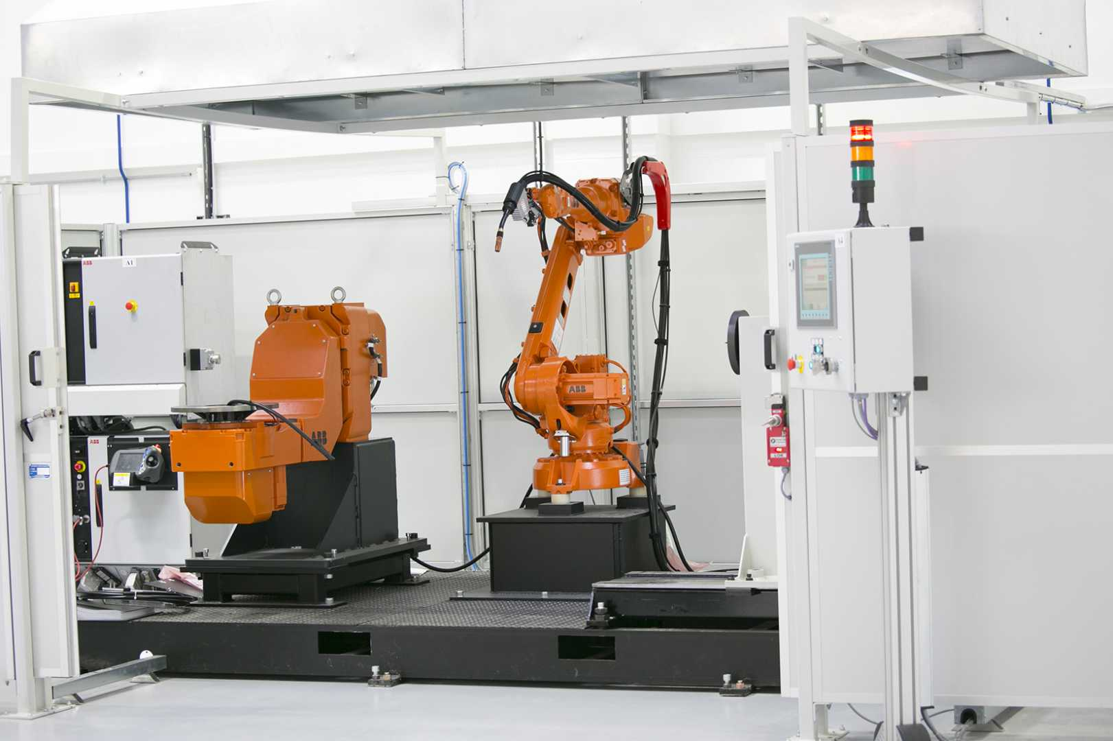 ABB Robotics research supports the contention that automation and robotics increase productivity and competitiveness.