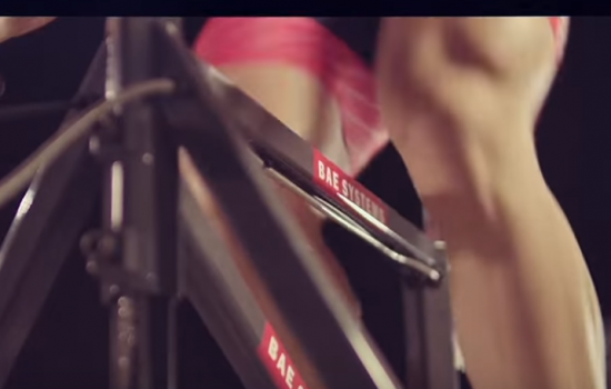 BAE Systems technology is propelling Britain's cyclists towards success in 2016 - image courtesy of BAE Systems video