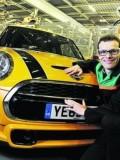 Tom Bradford, product steering lead, BMW Mini.