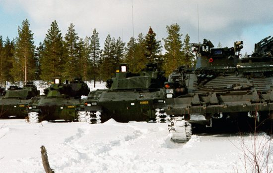 BAE Systems will refurbish 262 CV90s under a new contract for Sweden, helping to increase the vehicles' lifespan in support of Swedish Army capabilities - image courtesy of BAE Systems.
