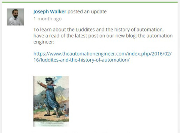 5. AABTLN post Joseph Walker and the history of Automation