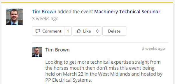 2. AABTLN post Tim Brown Machinery Technical Seminar March 2016
