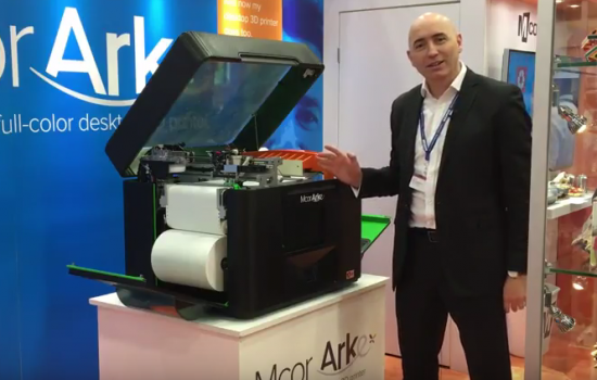 The Mcor ARKe paper 3D printer at SOLIDWORKS World 2016