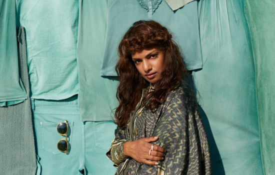H&M and artist M.I.A. have joined together to launch World Recycle Week - image courtesy of H&M