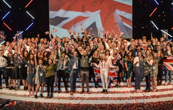 The elite of British engineering grabbed a 'bank vault' of medals at the Skills 'Olympics' - WorldSkills 2015.