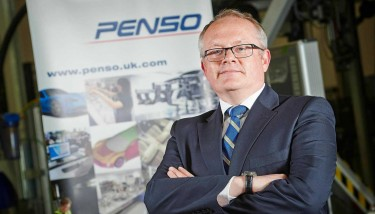 Michael Collins,group sales and marketing director at Penso Group.