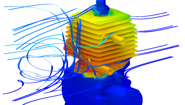 Computational Fluid Dynamics is a cost-effective and accurate means of analysing new CAD designs and ideas.