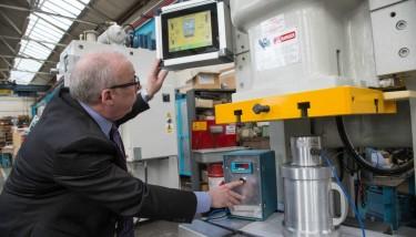 Kevin Gardner testing the Titan Monitoring System.