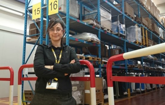 Polly Kalogeropoulou, graduate project engineer, Parker.