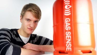 Entrepreneur George Edwards, founder of Gas-Sense. (ALTERNATIVE)