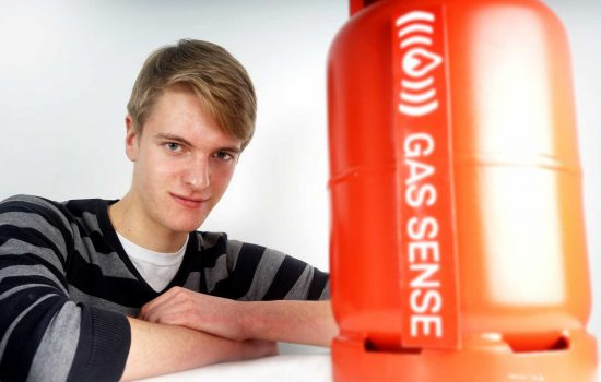 George Edwards, founder of Gas-Sense. (ALTERNATIVE)