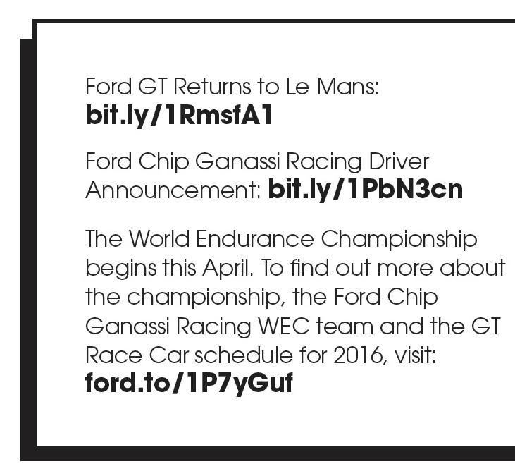 Ford GT WEC Team