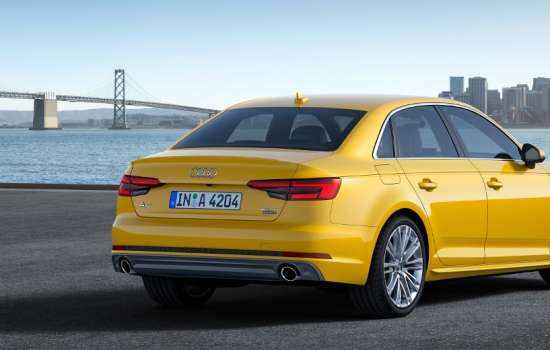 The Audi A4 has led increased US sales in the first part of 2016 - image courtesy of Audi