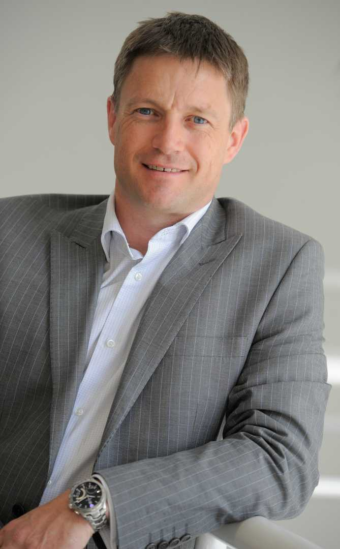 Tony Chapman, general manager - customer services. Siemens UK & Ireland.