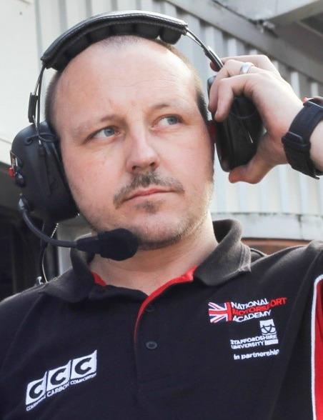 Kieran Reeves, director, National Motorsport Academy.