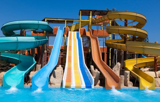 Water parks are incredibly popular but setting one up takes a good deal of planning - image courtesy of Adobe.