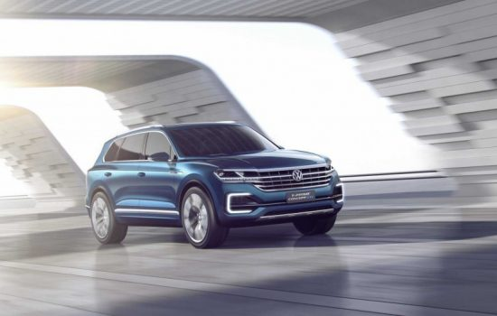 The T-Prime concept car unveiled by VW at the Beijing Auto Show. Image courtesy of Volkswagen.