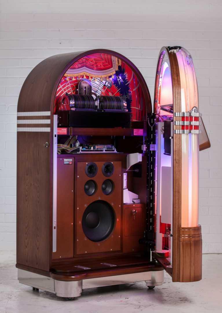 Sound Leisure - Record Value - Jukebox Interior - May 2016
