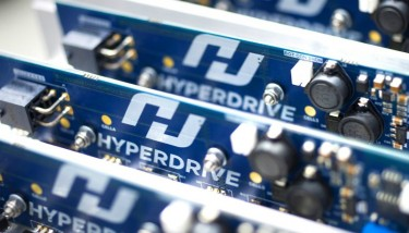 Technology at Hyperdrive Innovation is used in battery energy storage systems, allowing power generating systems like solar or wind energy to be stored and then utilised.