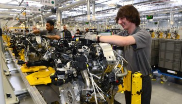 Jaguar Land Rover team has developed an entire suite of world-leading engines which combine almost 200 innovative ideas.