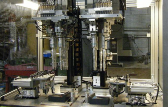 An ultrasonic welding machine developed by Sefortek in Canada - image courtesy of Sefortek