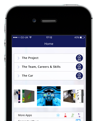 Bloodhound's first official app – available for both ios and Android devices.