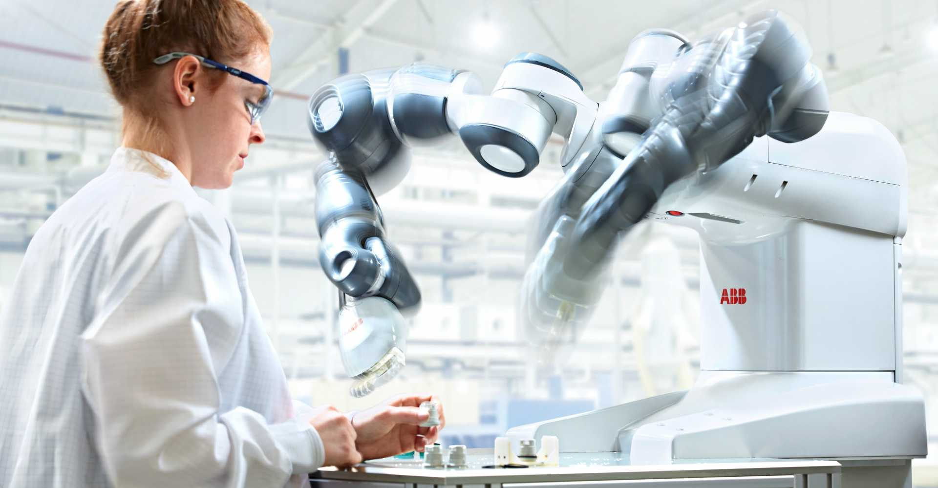 ABB Robotics' YuMi is designed to be used in close proximity to regular personnel (image courtesy of ABB).