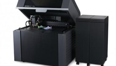 Stratasys J750 3D Printer Angle Right Open
