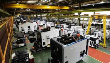 Yamazaki Mazak Worcester production line 5