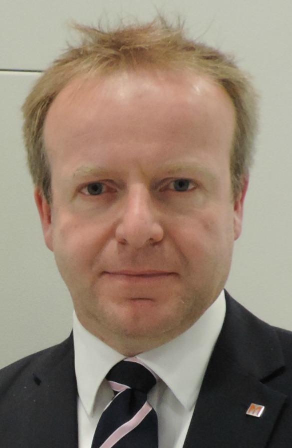 Alan Mucklow, group product manager Europe, Yamazaki Mazak.