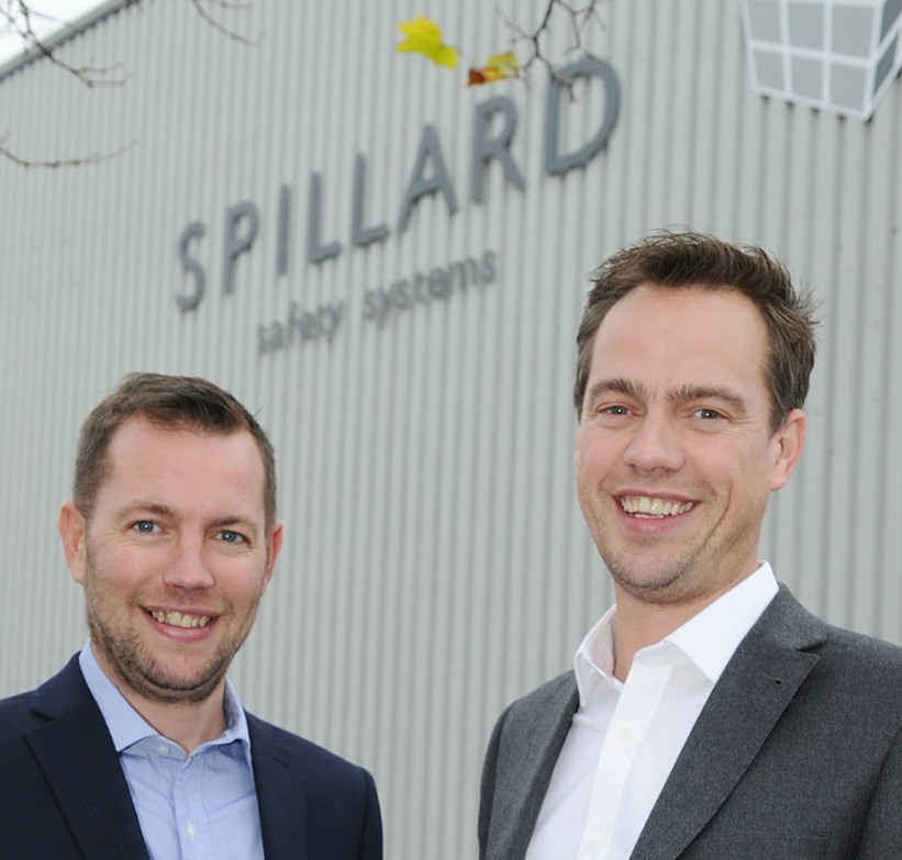 L to R: Craig an Pete Spillard, both directors of Spillard Safety Systems.