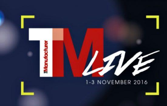 TM Live - The Manufacturer Live Logo