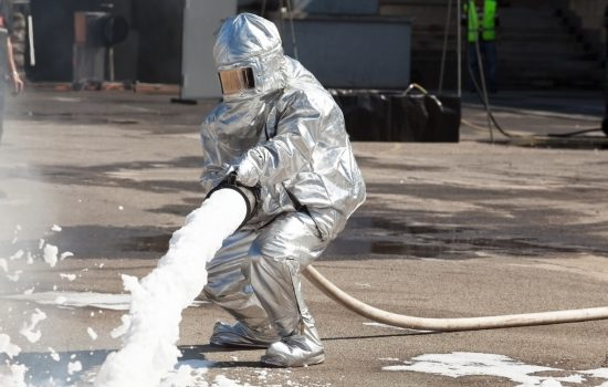 Contamination of PFOA and PFOS is being linked to firefighting drills that were carried out about 30 years ago at military and Airforce bases around Australia - image courtesy of Adobe Stock