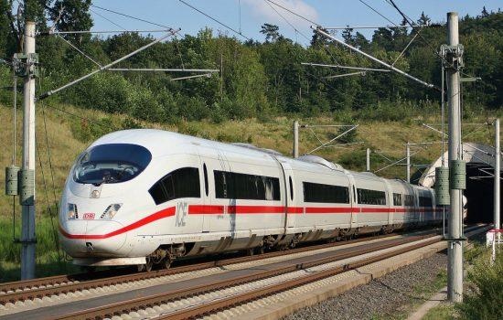 A Deutsche Bahn long distance high speed train. Image courtesy of Wikipedia - Sebastian Terfloth