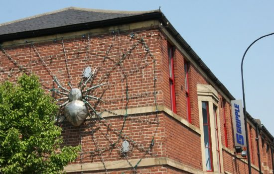 The famous metal sculpture held together by Gripple's wire fastenings - image courtesy of Gripple.