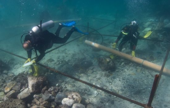 Precision scanning technology, normally used to solve high tech engineering problems, was able to reveal that archaeologists searching a shipwreck had found an extraordinarily rare silver coin - image courtesy of WMG.