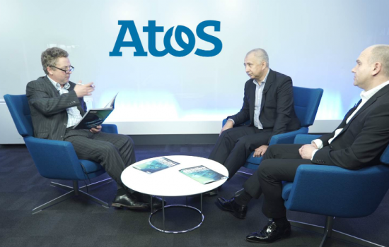 L to R: Henry Anson, managing director (The Manufacturer); Carl Vaughan, head - consumer packaged goods (Atos); and Ferenc Vezer, chief information officer (2 Sisters Food Group).