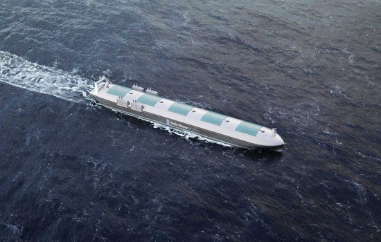 An autonomous ship as envisaged by Rolls-Royce. Image courtesy of Rolls Royce