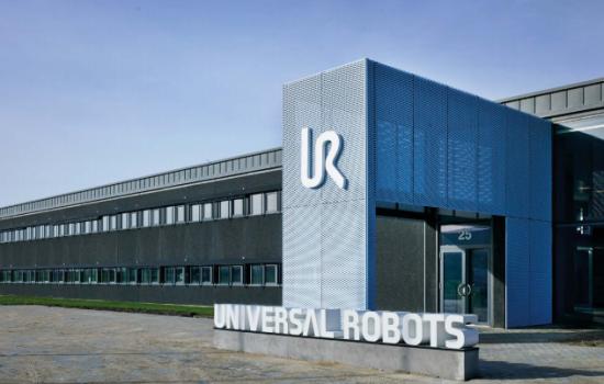 The Danish site for cobots manufacturer, Universal Robots - image courtesy of Universal Robots