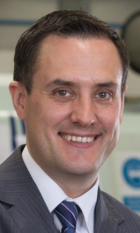 Chris Eccles, managing director, ChargePoint Technology.