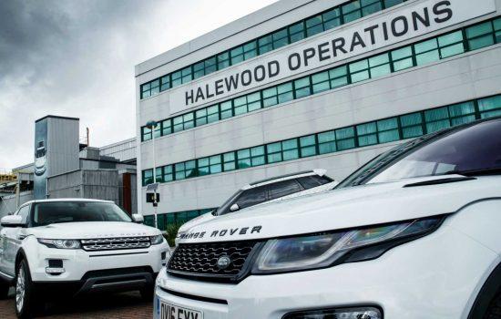 Jaguar Land Rover has invested £600m at the Halewood plant since 2010 - image courtesy of Jaguar Land Rover.