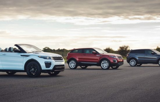 The Range Rover Evoque has become a non-stop British success with 24-hour production at the Halewood plant - image courtesy of Jaguar Land Rover.