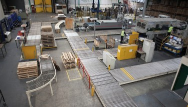 All of Boxed Up's corrugated cardbord boxes are manufactured within its Wigan factory.