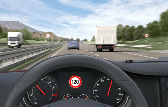 Sophie Spooner imagined smart glass with micro-cameras that could record unauthorised entry into a vehicle – image courtesy of Bosch.