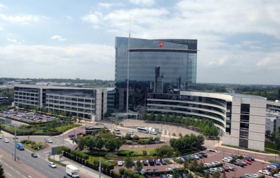 GSK's corporate headquarters in Brentford, London