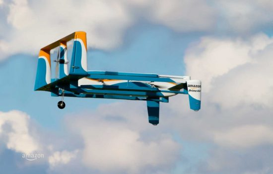 An Amazon Prime Air drone. Image courtesy of Amazon