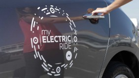 The Nissan Electric Ride in Cannes - image courtesy of Nissan