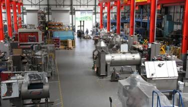 Winkworth Mixers Factory.