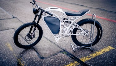APWorks are the company behind the world's first 3D printed motorbike.