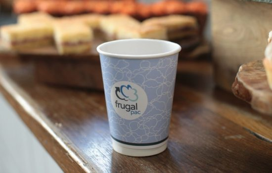 Having spent the past two years in development, it's hoped that coffee chains and cup producers will see Frugalpac coffee cup as an answer to a significant issue - image courtesy of Frugalpac.